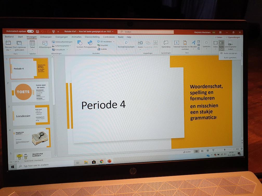 Een filmpje maken van je PowerPoint