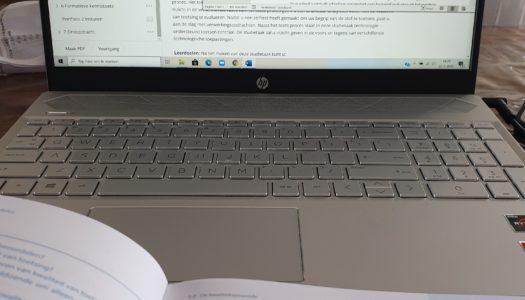 Studeren en direct voor de klas